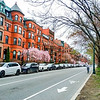Commonwealth Avenue in beautiful Back Bay