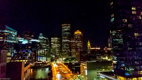 Boston from a rooftop