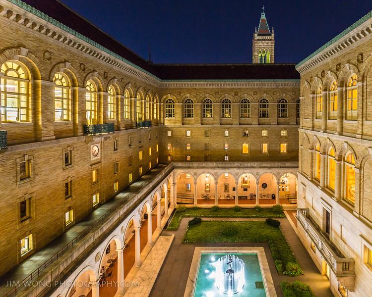 Courtyard, Boston Public Library