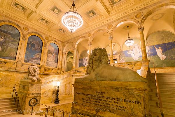 Chavannes Gallery, Boston Public Library