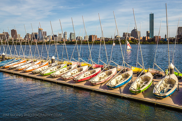 Charles River, from the MIT Sailing Pavilion