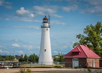 Fort Gratiot Lighthouse Pt Huron MI '17 LR-7345