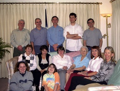 Mam at 90 years - 2002