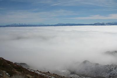 Cloud over Mono Lake - 2