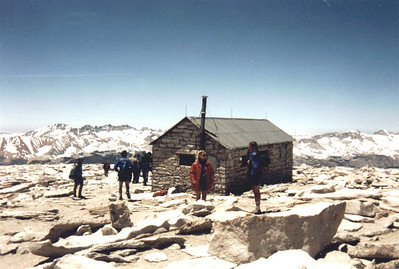 Whitney Hut - Back from the Edge