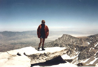 Top of Whitney - Chris
