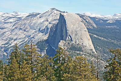 Half Dome from Sentinal Dome, Yosemite NP, California