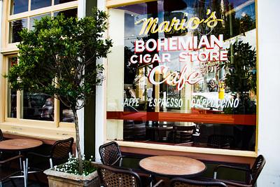 Mario's Bohemian Cigar Store Cafe - San Francisco, CA