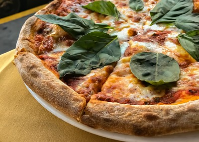 Pizza from Mona Lisa Restaurant - San Francisco, CA
