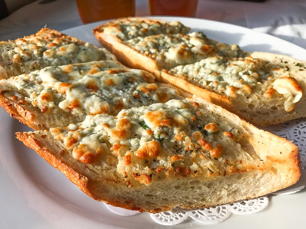 Blue Cheese Garlic Bread from Fog Harbor Fish House on Pier 39