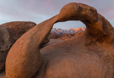 Mobius Arch dawn