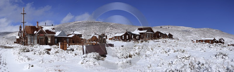 Bodie Ghost Town California Old Building Silver Gold Royalty Free Stock Photos - 010508 - 05-10-2011 - 13267x4091 Pixel
