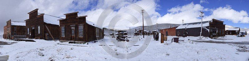 Bodie Ghost Town California Old Building Silver Gold Fine Art Giclee Printing Modern Wall Art - 010492 - 05-10-2011 - 16773x4153 Pixel