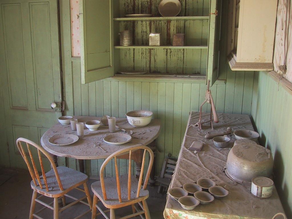 Ghost Town Kitchen - Bodie, California - Photo