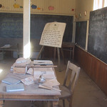 Ghost Town School Room – Bodie, California – Photo