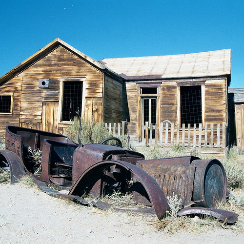 Ghost Town of Bodie - Bodie State Park - California Travel