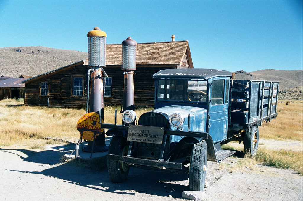Ghost Town Truck - Bodie, California - Daily Photo