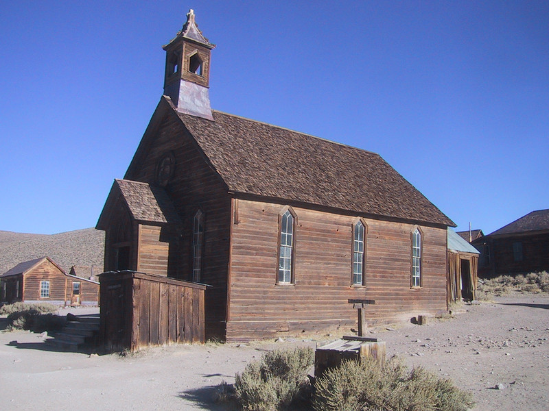 Church - Ghost Town of Bodie - California State Park