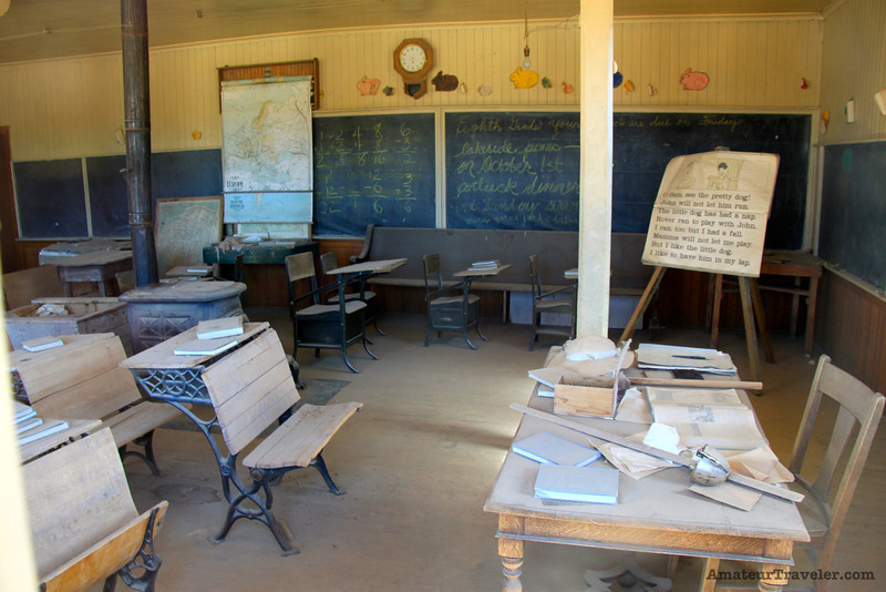 School - Ghost Town of Bodie - California State Park