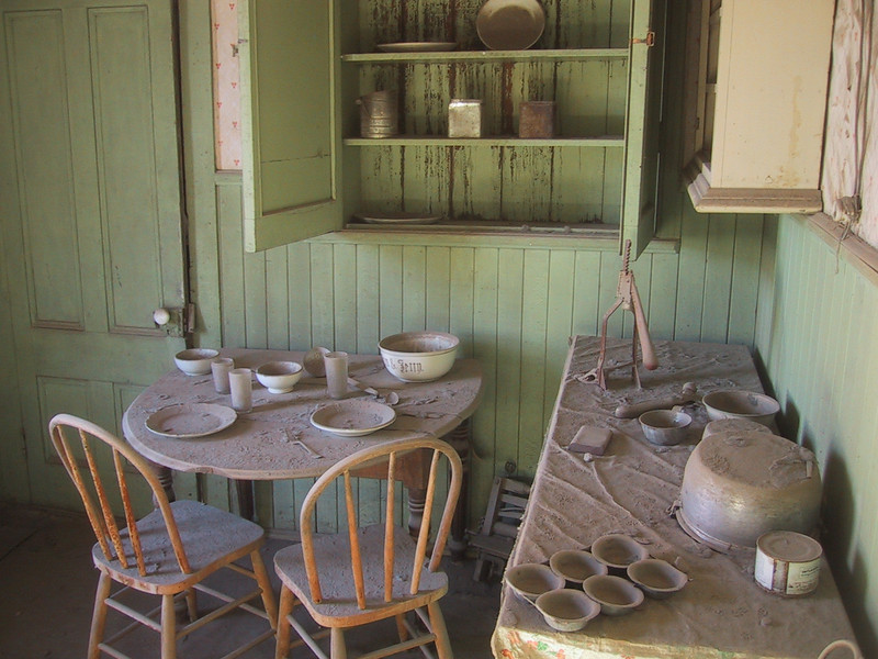 Dusty Home - Ghost Town of Bodie - California State Park