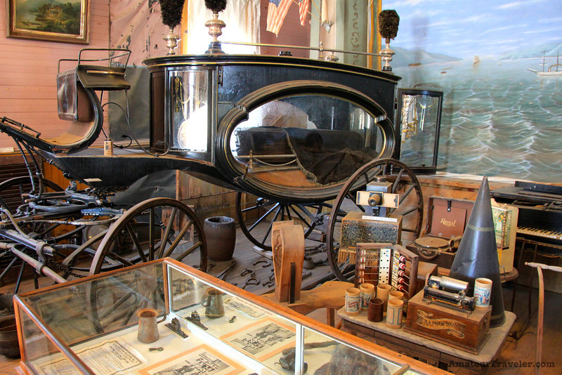 Hearse - Ghost Town of Bodie - California State Park