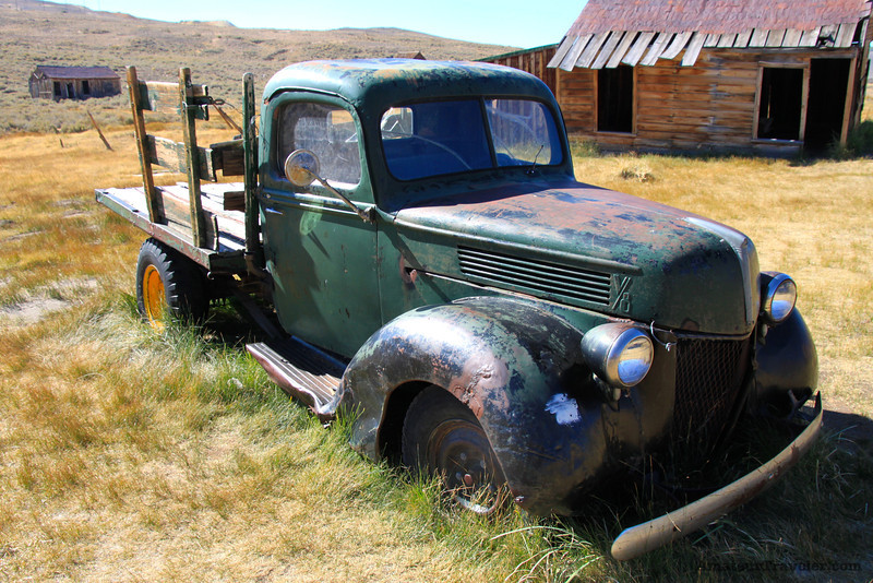 Old Truck - Ghost Town of Bodie - California State Park