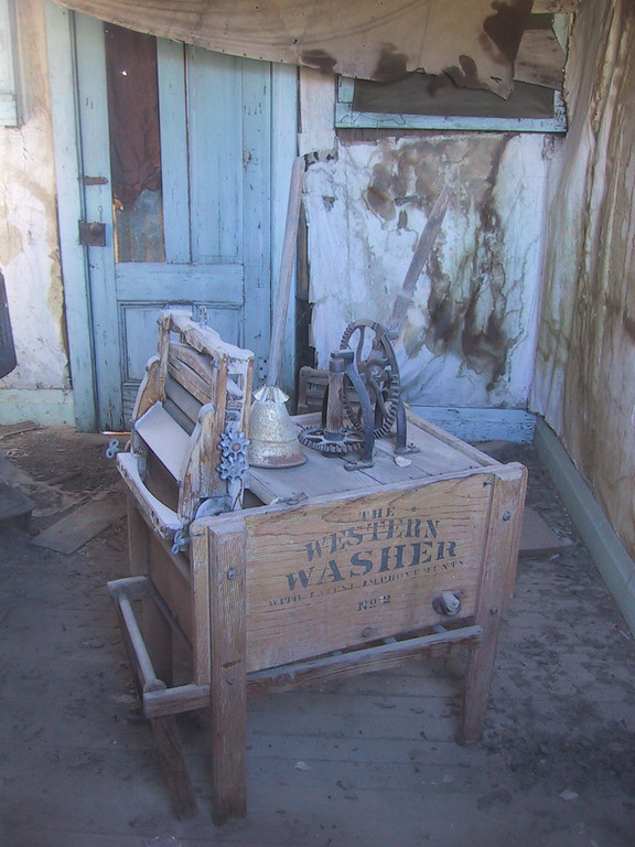 Old Washing Machine - Ghost Town of Bodie - California State Park