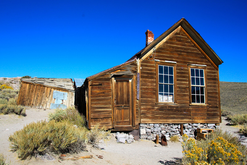 House - Ghost Town of Bodie - California State Park