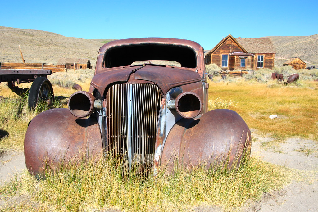 Rusty Old Car - Bodie, California - Daily Photo