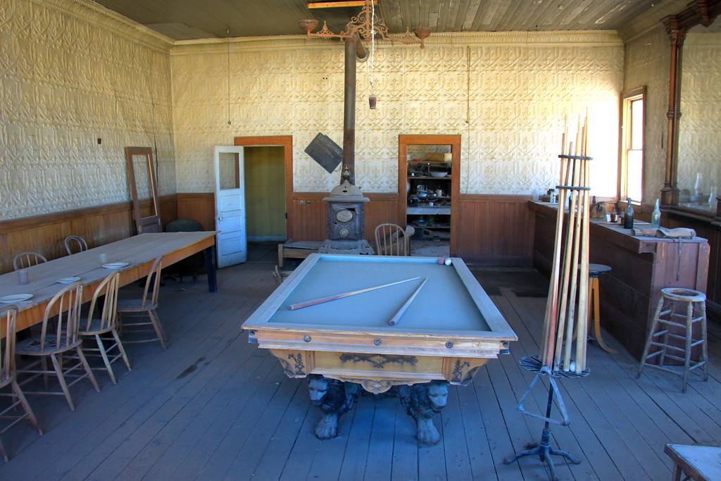 Ghost Town Pool Hall - Bodie, California - Photo