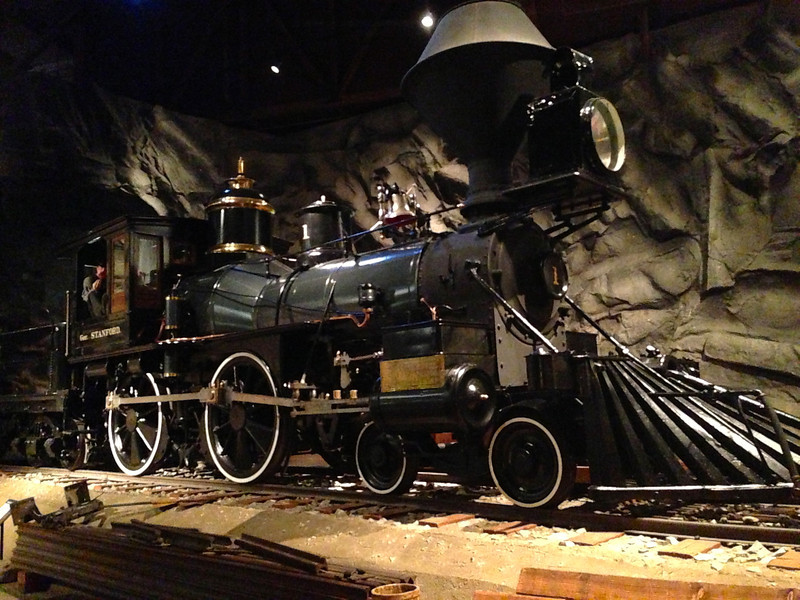 """Gov. Stanford"" locomotive"