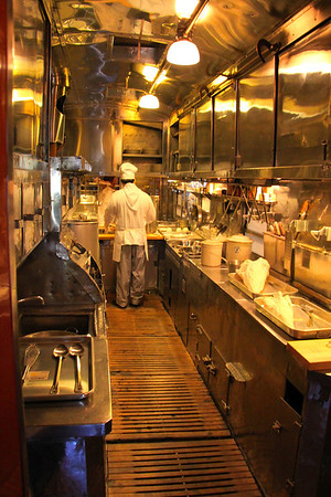 Kitchen of Dining Car