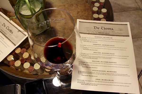 De Tierra Wine Tasting Room