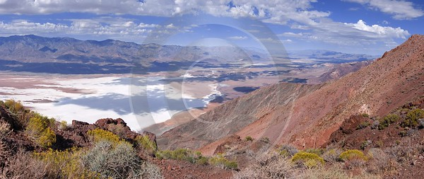 Death Valley Nationalpark Dantes View California Salt Lake Royalty Free Stock Images Sky Fine Arts - 010355 - 03-10-2011 - 9877x4164 Pixel