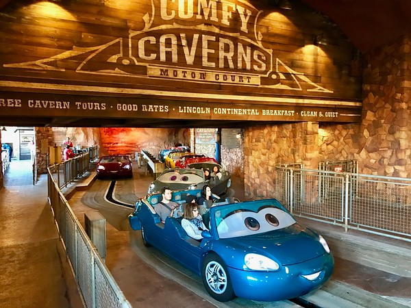 Radiator Spring Racers in Cars Land in California Adventure