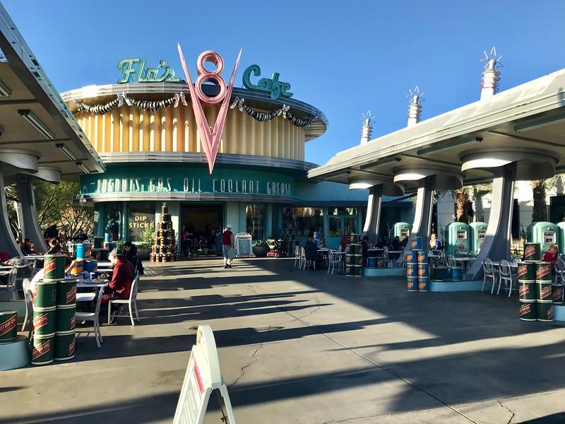 Flo's V8 Cafe in Cars Land