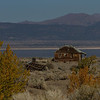 Abandoned farmhouse, Mono Lake