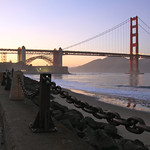 Golden Gate Bridge at Sunset – San Francsico, California – Photo