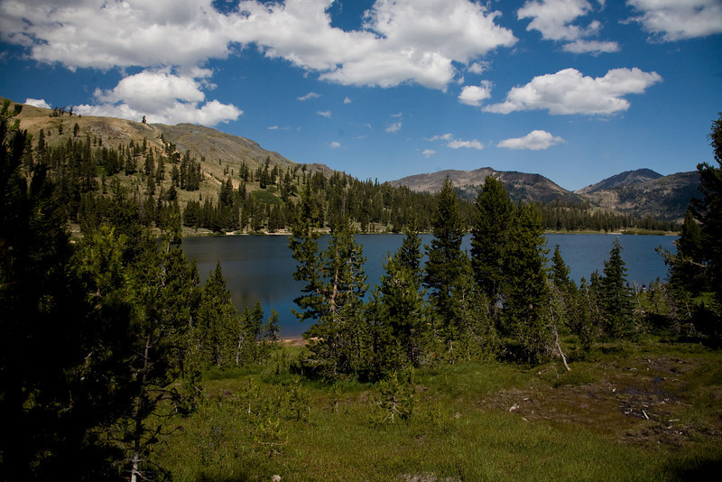 Highland lakes near ebbetts pass