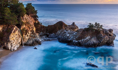 MCWAY FALLS AT CIVIL TWILIGHT