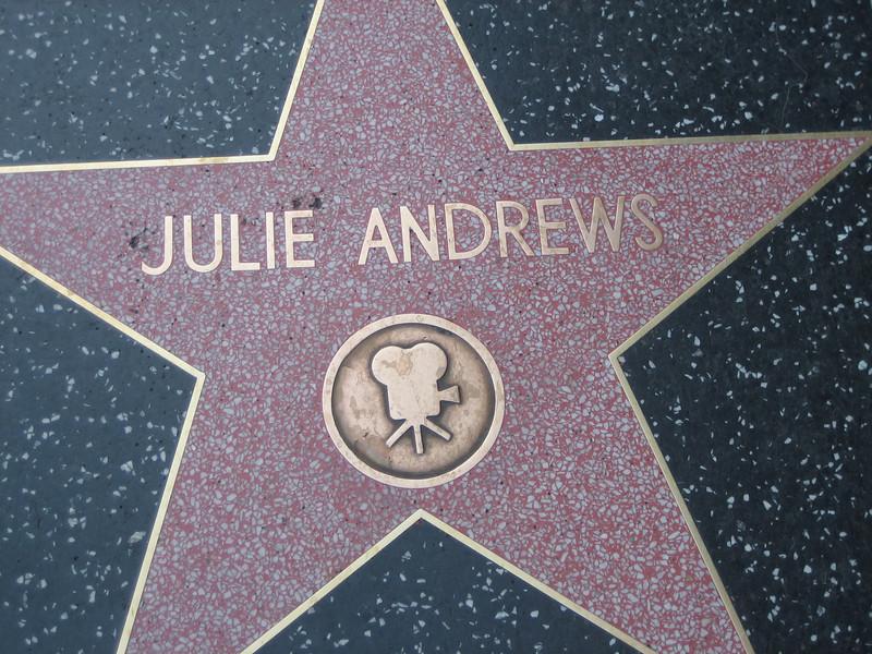 Julie Andrews - The Hollywood Walk of Fame