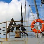 Air Aircraft Gun on the USS Red Oak Victory Ship – Richmond, California – Photo
