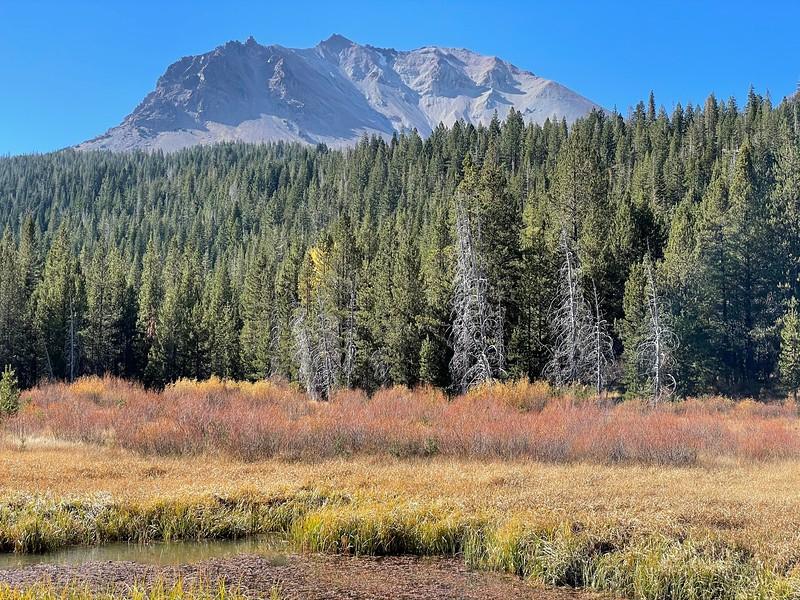 Hat Creek and Mt Lassen