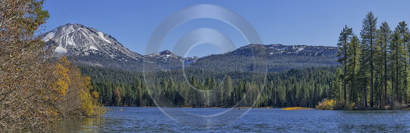 Viola Lassen Volcanic National Park Manzanita Lake View Outlook Art Photography For Sale Town Sea - 021758 - 23-10-2017 - 21537x6990 Pixel