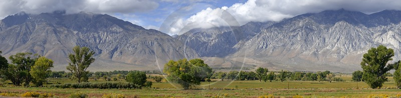 Lone Pine Independence California Inyo National Forest Mountain Spring Barn Images Art Prints - 009020 - 04-10-2011 - 19088x4678 Pixel