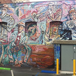 Jazz Band Wall Mural – Long Beach, California – Daily Photo