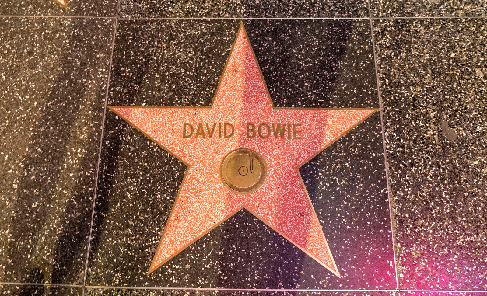 David Bowie Hollywood Walk of Fame