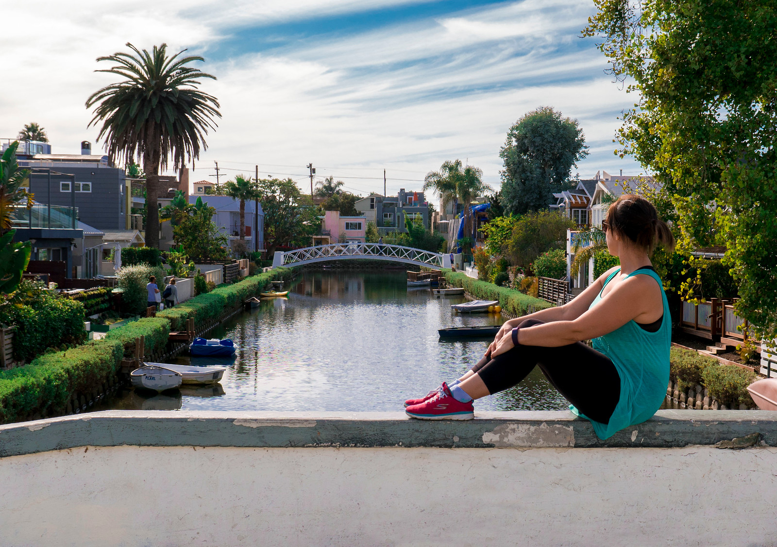 Venice Canals - Los Angeles in a day