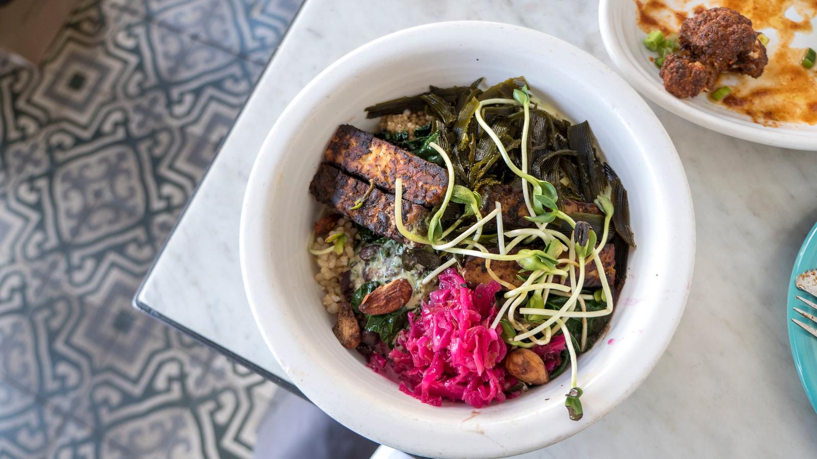 Cafe Gratitude -Vegan restaurant in Los Angeles