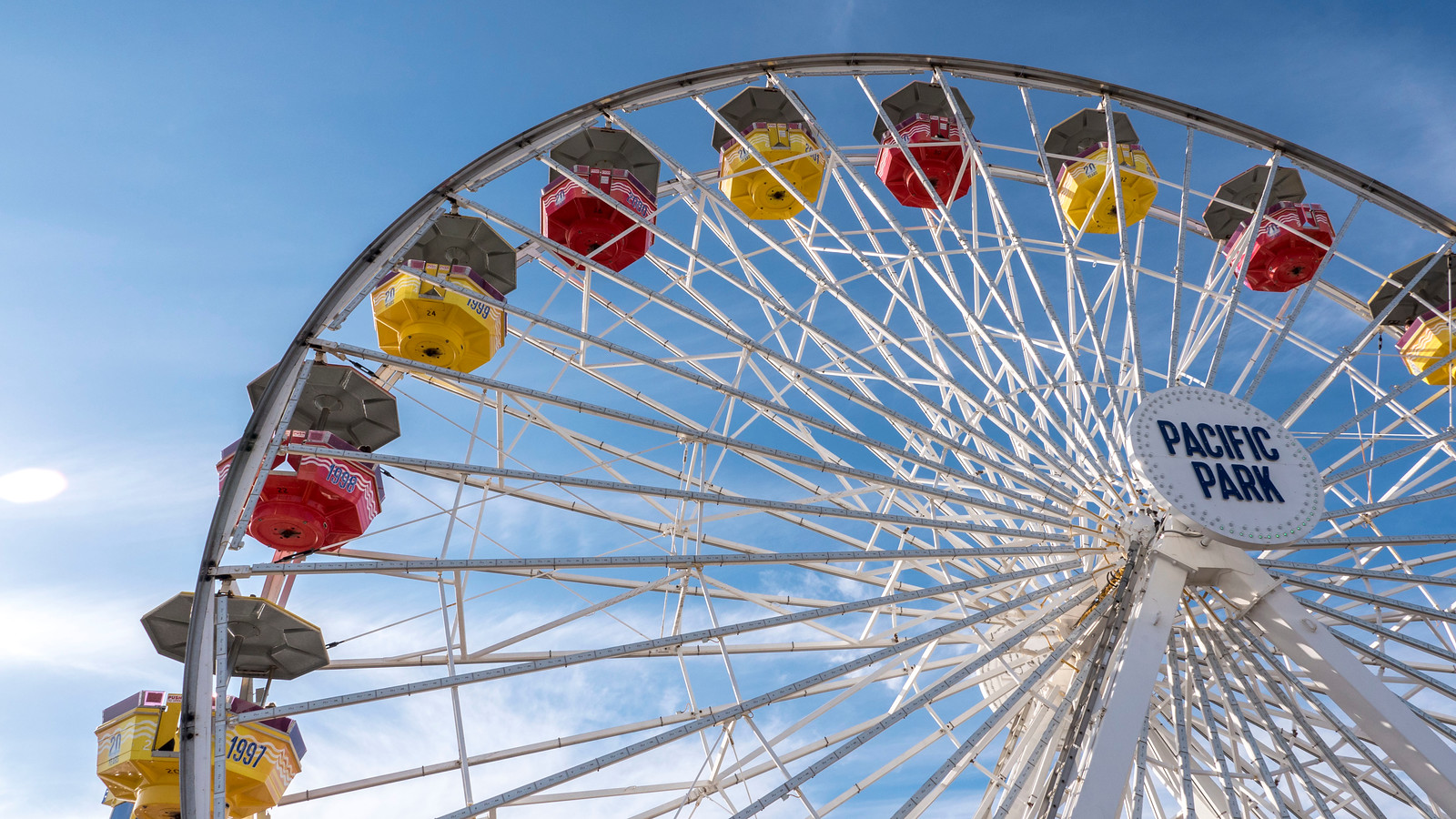 Ferris Wheel at Santa Monica Pier - 2 Days in Los Angeles Itinerary for First Timers